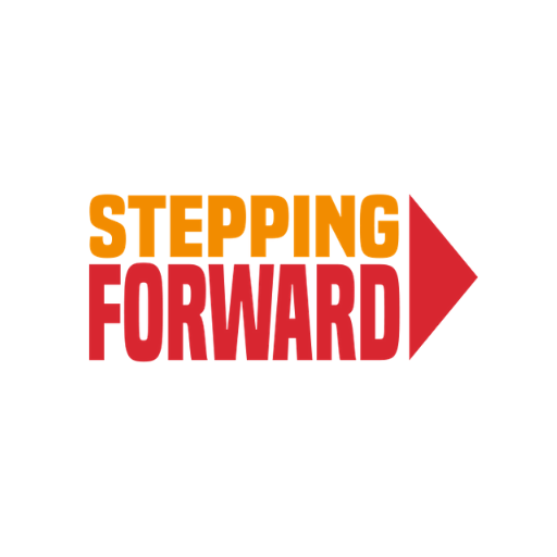 Stepping Forward Logo