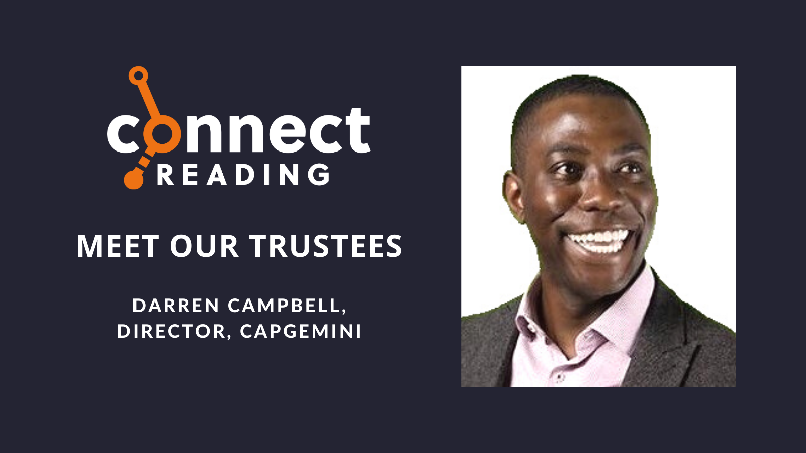 Meet our Trustees: Darren Campbell