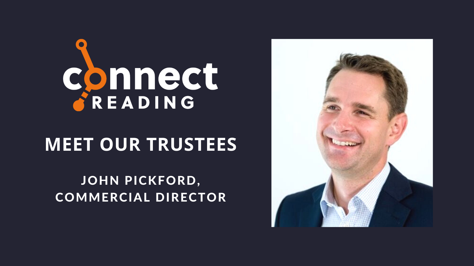 Meet our Trustees: John Pickford