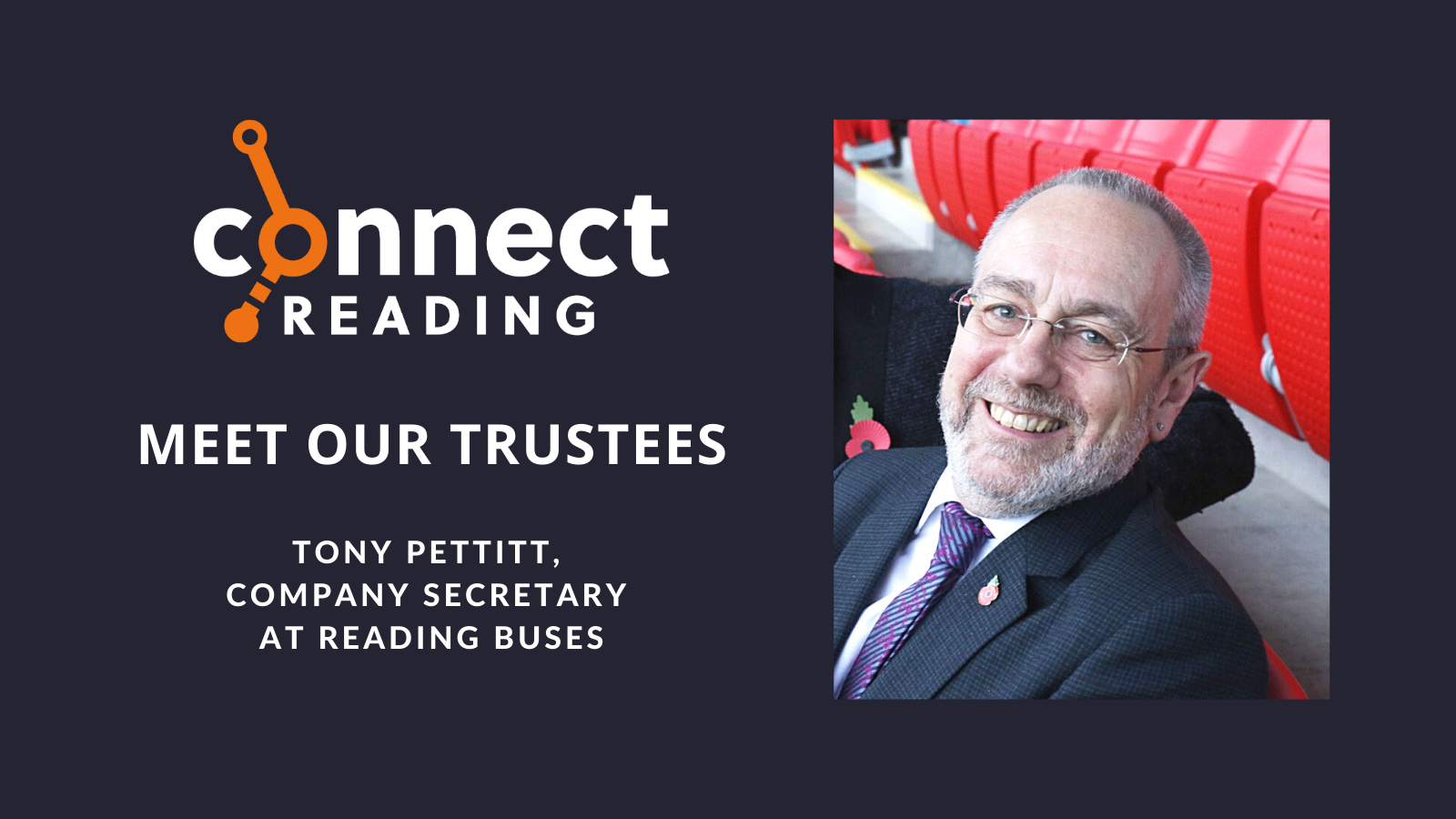 Meet our Trustees: Tony Pettitt